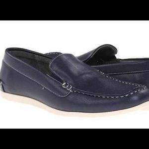 Steve Madden Sz 10.5 leather Slip On Loafers